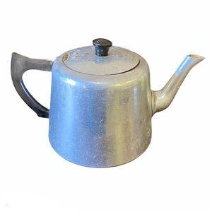Vintage Swan Aluminum Tea Kettle